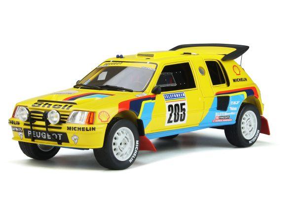 OttO mobile 1/18scale Peugeot 205 Grand Raid Dakar # 205 (Yellow) World Limited 3,000  [No.OTM354]