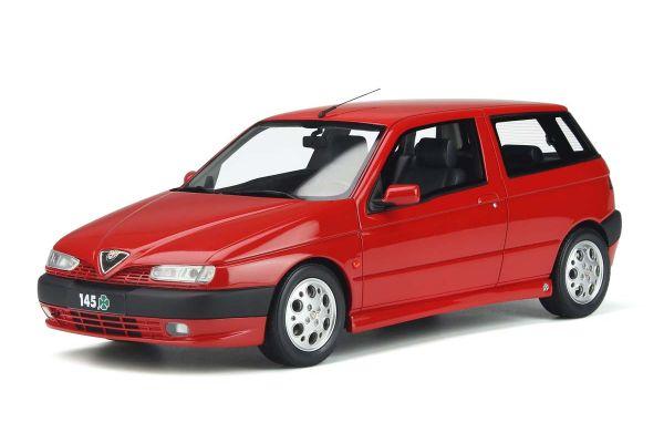 OttO mobile 1/18scale Alfa Romeo 145 Quadrifolio (Red) Limited to 1,500 pieces worldwide  [No.OTM361]