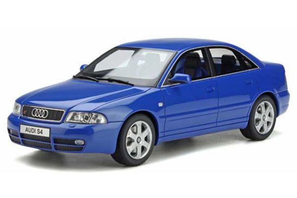 OttO mobile 1/18scale Audi S4 2.7 Bitabo Sedan (Blue) Limited to 3,000 Worldwide  [No.OTM373]