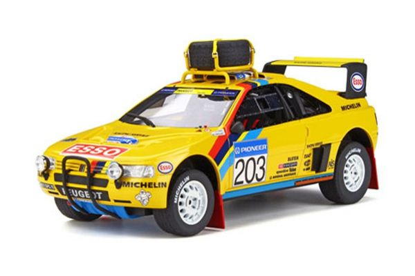 OttO mobile 1/18scale Peugeot 405 T16 Grand Raid #203 (yellow)  [No.OTM532]