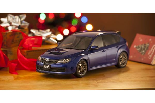 OttO mobile 1/18scale STI R205 (Blue) -OttO Mobile Kyosho Exclusive-  [No.OTM723]