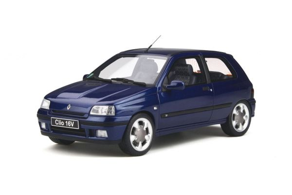 OttO mobile 1/18scale Renault Clio 16v Phase.2 (Blue)  [No.OTM744]