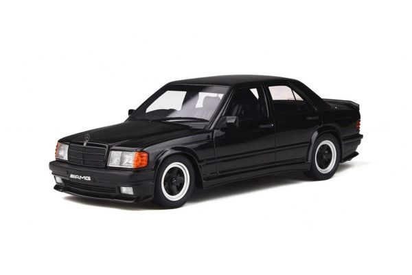 OttO mobile 1/18scale Mercedes-Benz 190E 2.3 AMG (Black)  [No.OTM754]