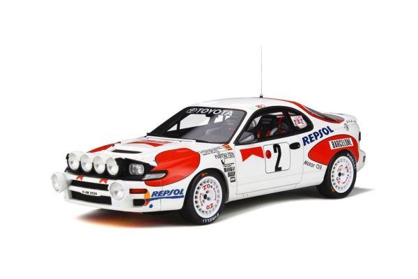 OttO mobile 1/18scale Toyota Celica ST185 Monte-Carlo 1992 (White / Red)  [No.OTM780]