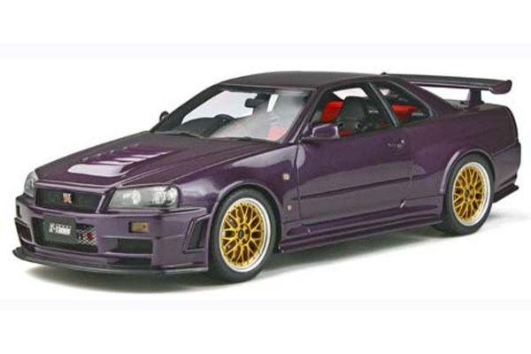 OttO mobile 1/18scale NISMO GT-R Z-tune (Purple) World Limited 2,000  [No.OTM811]