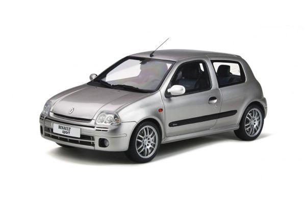 OttO mobile 1/18scale Renault Clio 2 RS Ph.1 (Silver)  [No.OTM841]