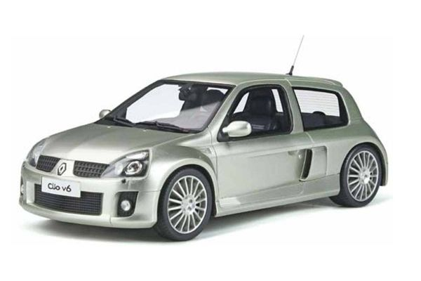 OttO mobile 1/18scale Renault Clio V6 Phase 2 (Silver) World Limited 2,000  [No.OTM842]