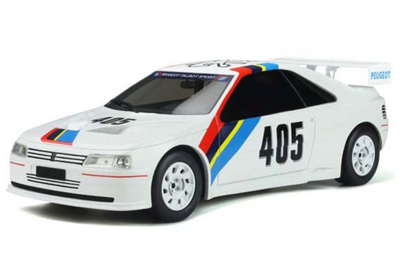OttO mobile 1/18scale Peugeot 405 T16 Gr.S (White) World Limited 2,000  [No.OTM850]