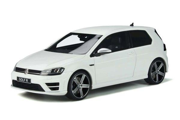 OttO mobile 1/18scale Volkswagen Golf R Mk.VII (White) World Limited 2,000  [No.OTM883]