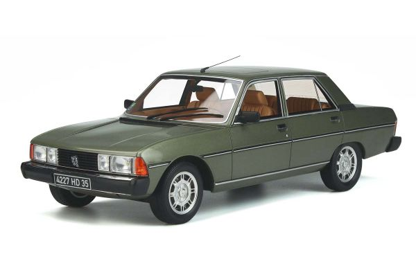 OttO mobile 1/18scale Peugeot 604 GTI (Green) World Limited 999  [No.OTM887]