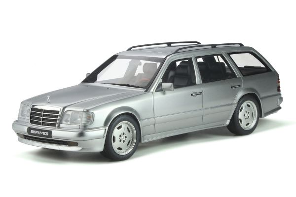 OttO mobile 1/18scale Mercedes Benz S124 E36 AMG (Silver) World Limited 2,500  [No.OTM889]