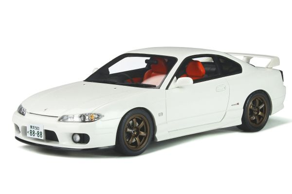 OttO mobile 1/18scale Nissan Silvia Spec R Aero (S15) (White) World Limited to 2,000  [No.OTM896]
