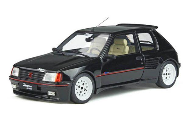 OttO mobile 1/18scale Peugeot 205 Dimmer (Black)  [No.OTM901]