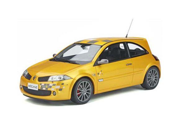 OttO mobile 1/18 ルノー メガーヌ II RS ルノー F1 チーム エディション (イエロー) 世界限定 4,000台 OTM914