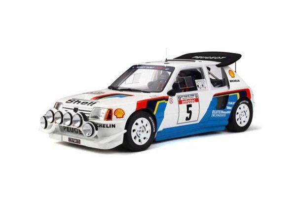 OttO mobile 1/12scale Peugeot 205 T16 Evo 2 Tour de Corse 1986 # 5 (White / Blue)  [No.OTMG021]