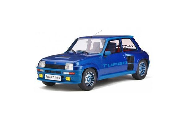 OttO mobile 1/12scale Renault 5 Turbo Mk.1 (Blue)  [No.OTMG043]