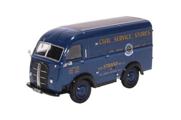 OXFORD 1/43scale Austin Threeway Van Civil Service Stores  [No.OX43AK017]