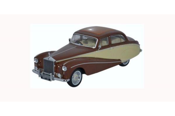 OXFORD 1/43scale Rolls Royce Silver Cloud Hooper Empress Brown/Cream  [No.OX43EMP001]