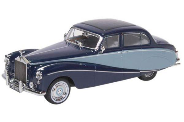 OXFORD 1/43scale Rolls Royce Silver Cloud Hooper Empress 2 Tone Blue  [No.OX43EMP002]