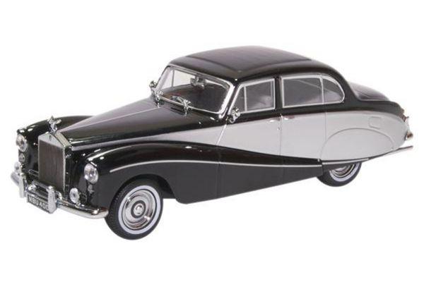 OXFORD 1/43scale Rolls Royce Silver Cloud/Hooper Empress Black/Silver  [No.OX43EMP003]