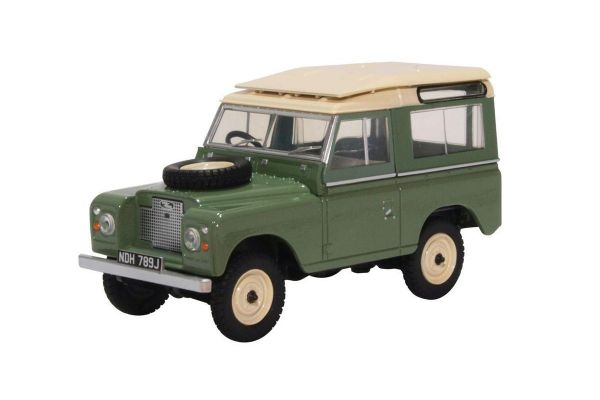OXFORD 1/43scale Land Rover Series IIA SWB Station Wagon Pastel Green  [No.OX43LR2AS03]
