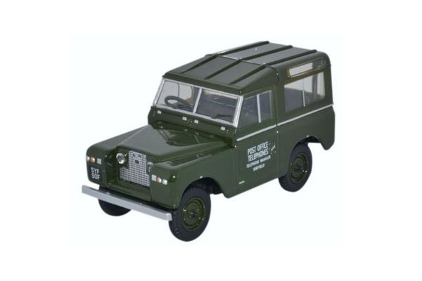 OXFORD 1/43scale Land Rover Series II SWB Hard Back Post Office Telephones  [No.OX43LR2S003]