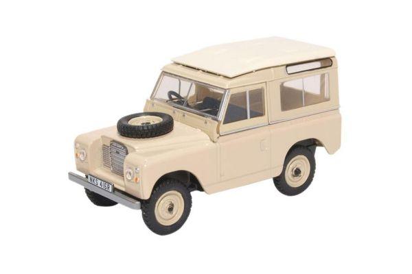 OXFORD 1/43scale Land Rover Series III SWB St. Wagon Limestone  [No.OX43LR3S001]