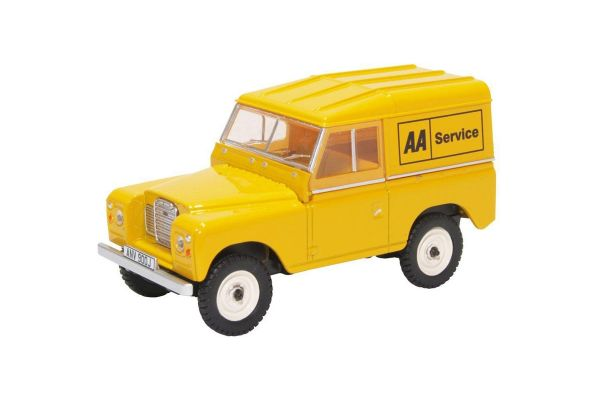 OXFORD 1/43scale Land Rover Series Iii Swb Hard Top AA  [No.OX43LR3S002]