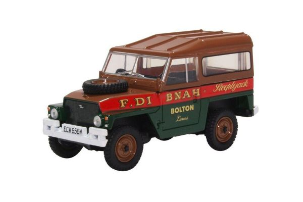 OXFORD 1/43scale Land Rover Lightweight Hard Top Fred Dibnah  [No.OX43LRL006]