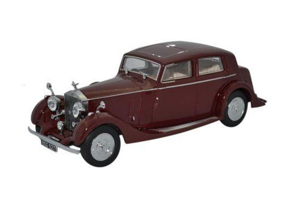 OXFORD 1/43scale Rolls Royce 25/30 Thrupp & Maberly Burgundy  [No.OX43R25001]