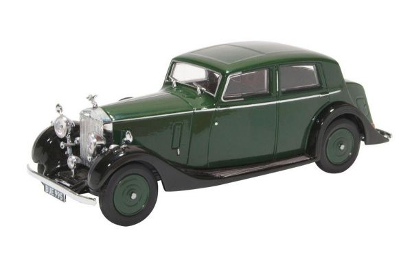 OXFORD 1/43scale Rolls Royce 25/30 - Thrupp & Maberley Dark Green/Black  [No.OX43R25002]