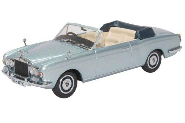 OXFORD 1/43scale Rolls Royce Corniche Convertible MPW Open Silver  [No.OX43RRC003]