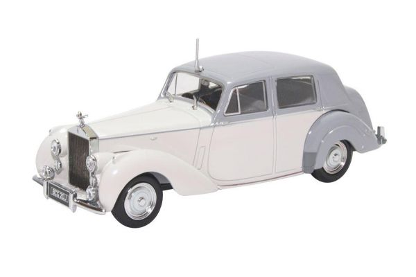 OXFORD 1/43scale Rolls-Royce Silver Dawn (Two-tone Gray)  [No.OX43RSD002]