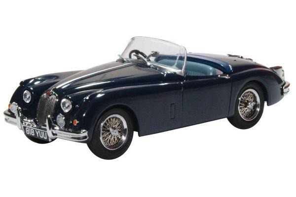 OXFORD 1/43scale Jaguar XK150 Roadster Indigo Blue  [No.OX43XK15009]