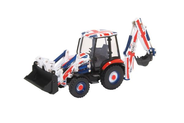 OXFORD 1/76scale JCB 3CX Eco Backhoe Loader Union Jack  [No.OX763CX002]