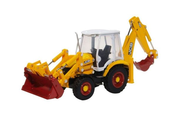 OXFORD 1/76scale JCB 3CX Eco Backhoe Loader 70th Anniversary  [No.OX763CX003]