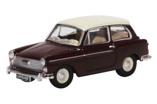 OXFORD 1/76scale Austin A40 MkII Maroon B / Snowberry White  [No.OX76AA007]