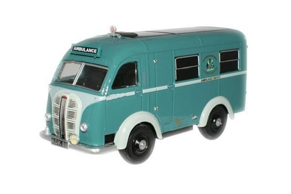 OXFORD 1/76scale Nottingham Ambulance Austin Welfarer Ambulance  [No.OX76AK004]