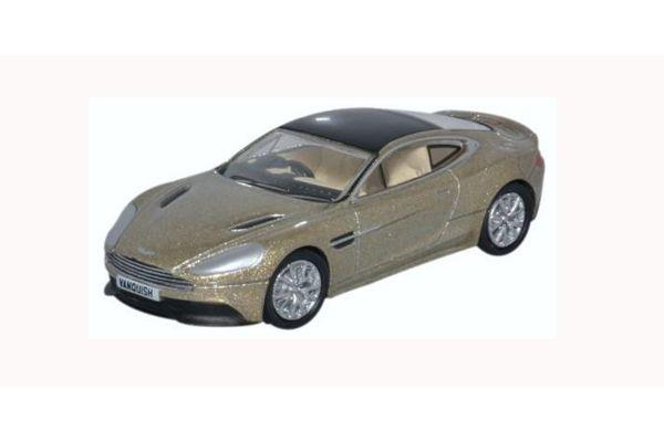 OXFORD 1/76scale Aston Martin Vanquish Coupe Selene Bronze  [No.OX76AMV002]