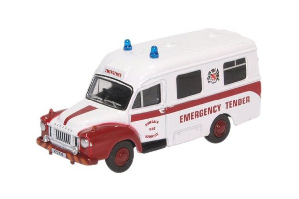 OXFORD 1/76scale Bedford J1 Ambulance Dundalk Fire Service  [No.OX76BED007]