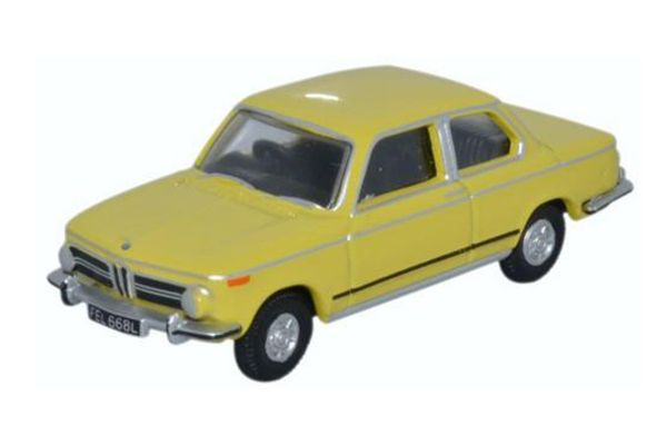 OXFORD 1/76scale BMW 2002 Golf Yellow  [No.OX76BM02002]