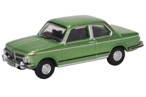 OXFORD 1/76scale BMW 2002 Taiga Green  [No.OX76BM02003]