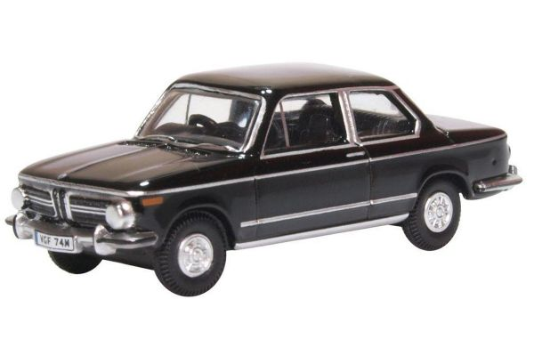 OXFORD 1/76scale BMW 2002 BlackProduct Code: 76BM02004  [No.OX76BM02004]