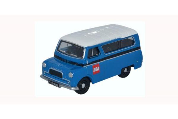 OXFORD 1/76scale Bedford CA Minibus BEA Blue  [No.OX76CA029]