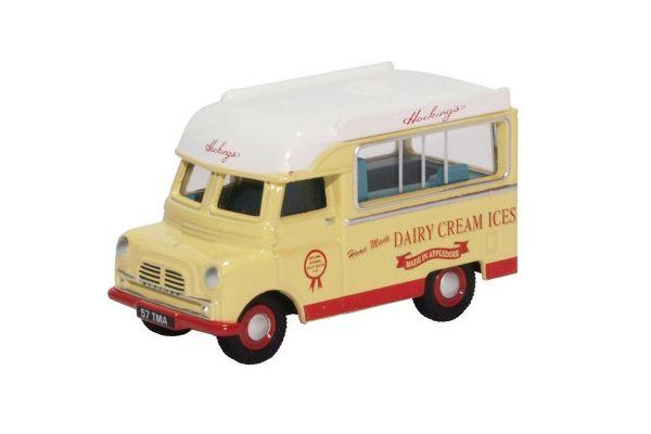 OXFORD 1/76scale Bedford Ca Ice Cream Hockings  [No.OX76CA030]