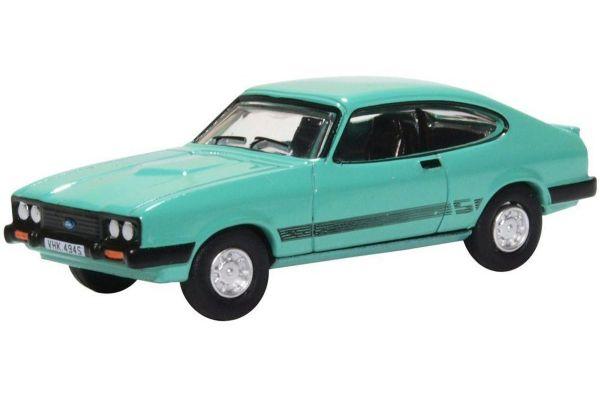 OXFORD 1/76scale Ford Capri MkIII Peppermint Sea Green  [No.OX76CAP009]