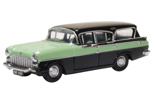 OXFORD 1/76scale Vauxhall Cresta Friary Estate Versailles Green/black  [No.OX76CFE008]