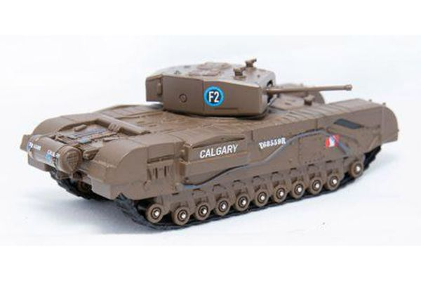OXFORD 1/76scale Churchill Tank MkIII 1st Canadian Army Bgd Dieppe 1942  [No.OX76CHT002]