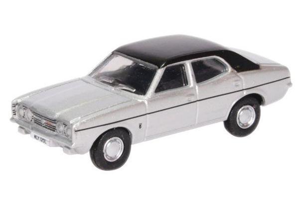 OXFORD 1/76scale Ford Cortina MkIII Strato silver  [No.OX76COR3008]