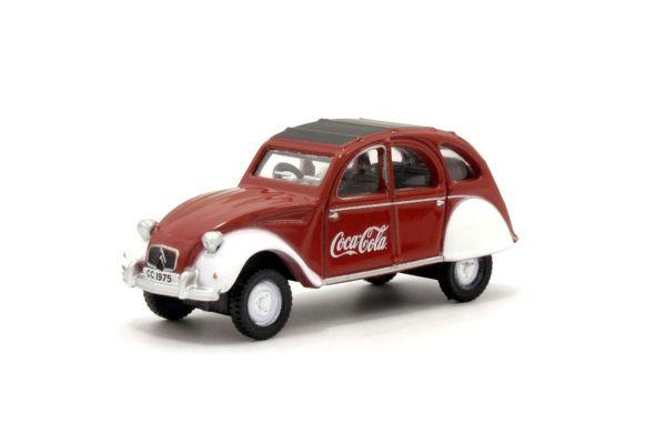 OXFORD 1/76scale Citroen 2CV Coca Cola  [No.OX76CT007CC]